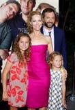 Leslie Mann och Judd Apatow Royaltyfria Bilder