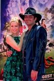 Leslie Mann, Robert Rodriguez Στοκ εικόνες με δικαίωμα ελεύθερης χρήσης
