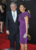 Leslie Moonves & Julie Chen Royalty Free Stock Images
