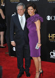 Leslie Moonves & Julie Chen Royalty Free Stock Photo
