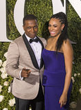 Leslie Odom Jr. and Nicolette Robinson Royalty Free Stock Images