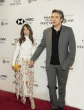 Leslie Urdang and Jon Tenney at 2018 Tribeca Film Festival Stock Photo