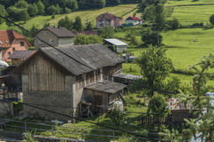 Lesnica village in Pieniny national park Stock Photos