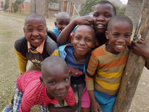LESOTHO BOYS Stock Images