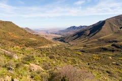 Lesotho dolina Obrazy Royalty Free