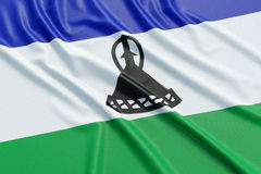 Lesotho flag Royalty Free Stock Photos