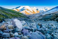Lesotho-Flussbett Lizenzfreie Stockfotografie