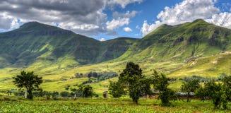 Lesotho krajobraz zdjęcie stock