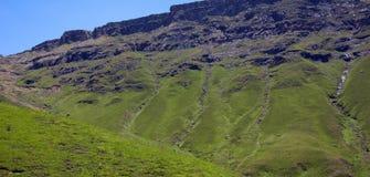 Lesotho Lesotho krajobraz królestwo, oficjalnie zdjęcie stock