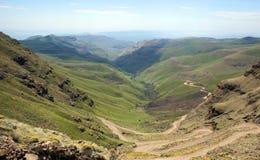 Lesotho Lesotho krajobraz królestwo, oficjalnie obrazy royalty free