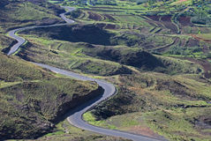 Lesotho Roads 11 Stock Images