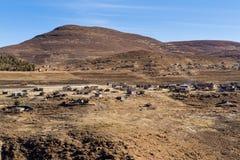 Lesotho wioska Obraz Royalty Free