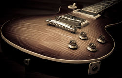 Lespaul Electric Guitar Stock Photography