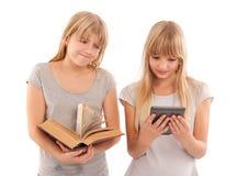 Lesquels - ebook ou livre Photo stock