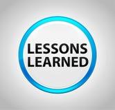 Lessen om Blauwe Drukknop worden geleerd die royalty-vrije illustratie