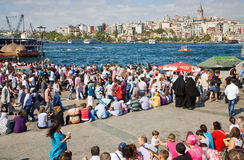 Lesser Bayram in Istanbul Stock Photos