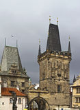 Lesser Bridge Tower, Prague Stock Photography