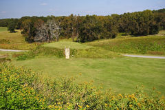 Lesser Temple Mound Royalty Free Stock Photos