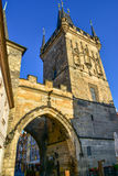 Lesser Town Bridge Towers on Charles Bridge Royalty Free Stock Image