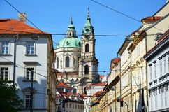 Lesser town of Prague Royalty Free Stock Images