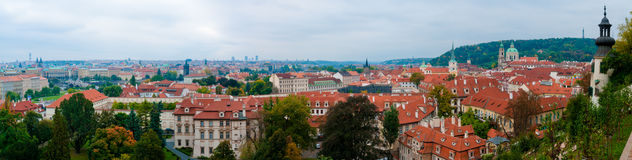 Lesser Town of Prague Royalty Free Stock Photos