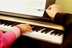lession 3 клавиатур Стоковое Фото