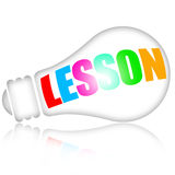 Lesson learning Stock Photo
