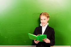 During a lesson Royalty Free Stock Photos