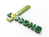 Lessons Learned Royalty Free Stock Image