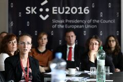 LESSONS LEARNT OF THE SLOVAK EU COUNCIL PRESIDENCY Stock Photography