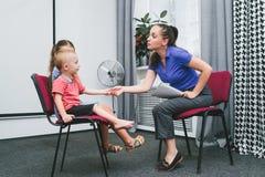 Lessons teacher child kindergarten royalty free stock photography