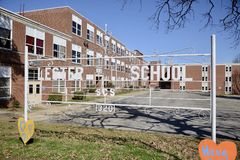 Lester Elementary School Memphis, Tennessee Arkivfoton