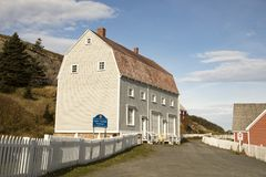 Lester Garland Premises Historic Site, Trinity, Newfoundland, Ca Royalty Free Stock Photo