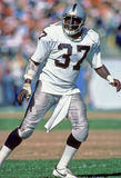 Lester Hayes Oakland Raiders Stock Photo