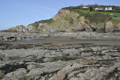 Lester Point and Combe Martin Beach Royalty Free Stock Image