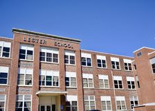 Lester School, Memphis, Tennessee. Lester Elementary School located in the Binghampton area of Memphis, Tennessee Stock Images