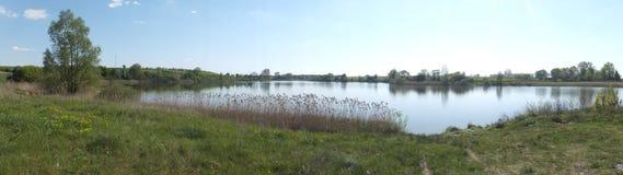 湖Leszcze 库存图片
