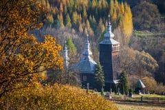 Православная церков церковь в Leszczyny, Польше Стоковая Фотография RF