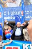 Leszek Μίλερ Στοκ φωτογραφία με δικαίωμα ελεύθερης χρήσης