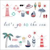 Let's идет море Стоковое Фото