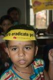 Let's eradicate polio Stock Images