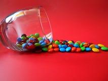 LetÂs äter choklad Arkivbilder