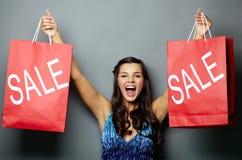 Letï ¿ ½ s gaat voor verkoop! Stock Fotografie