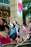 Let舞蹈EVANSTON,伊利诺伊2012年7月 免版税库存照片