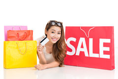 Let�s do the shopping! Royalty Free Stock Photography