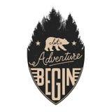 Let adventure begin Royalty Free Stock Photos