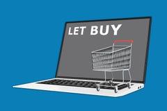 Let Buy concept Stock Photos