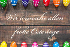 Let Easter bring joy and love ! Stock Image