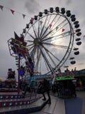 Let the Fun Begin. Fair rides opportunities fun spring stock photos