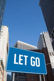 Let go against new york Royalty Free Stock Photo